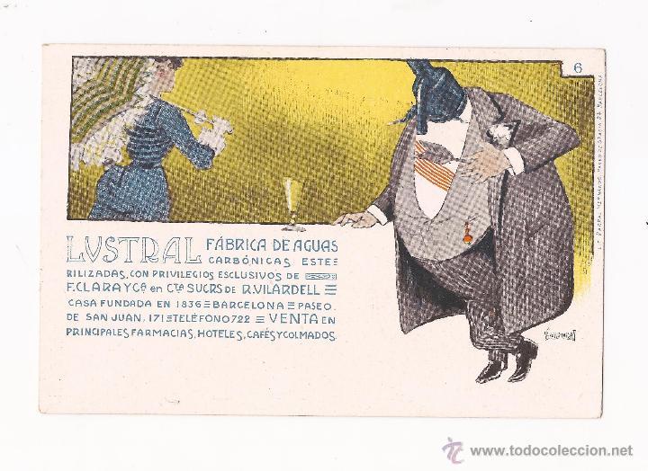 Postales: LUSTRAL FABRICA DE AGUAS CARBONICAS / COLECCIÓN DE 10 / ILUSTRADAS SIN CIRCULAR Y DORSO SIN DIVIDIR - Foto 6 - 50578900