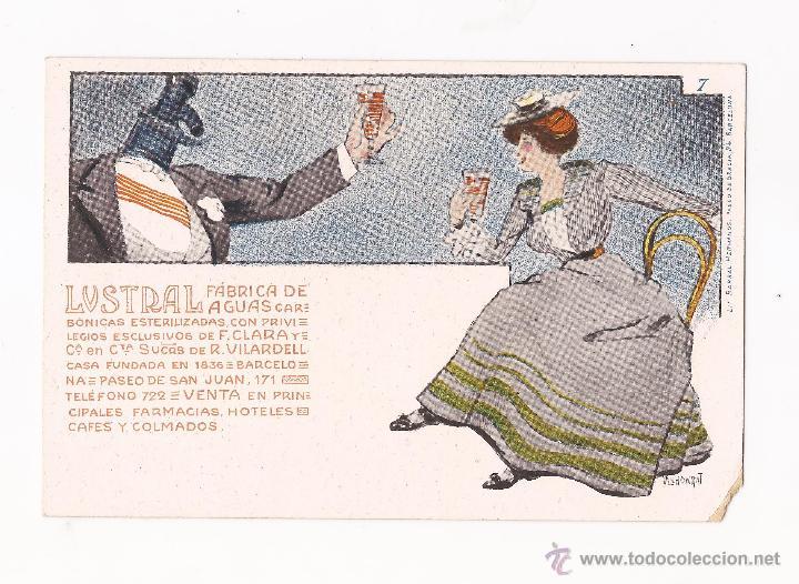 Postales: LUSTRAL FABRICA DE AGUAS CARBONICAS / COLECCIÓN DE 10 / ILUSTRADAS SIN CIRCULAR Y DORSO SIN DIVIDIR - Foto 7 - 50578900