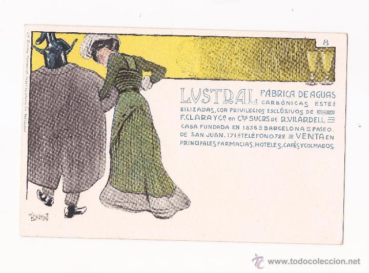 Postales: LUSTRAL FABRICA DE AGUAS CARBONICAS / COLECCIÓN DE 10 / ILUSTRADAS SIN CIRCULAR Y DORSO SIN DIVIDIR - Foto 8 - 50578900