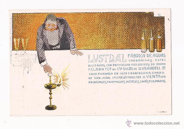 Postales: LUSTRAL FABRICA DE AGUAS CARBONICAS / COLECCIÓN DE 10 / ILUSTRADAS SIN CIRCULAR Y DORSO SIN DIVIDIR - Foto 9 - 50578900