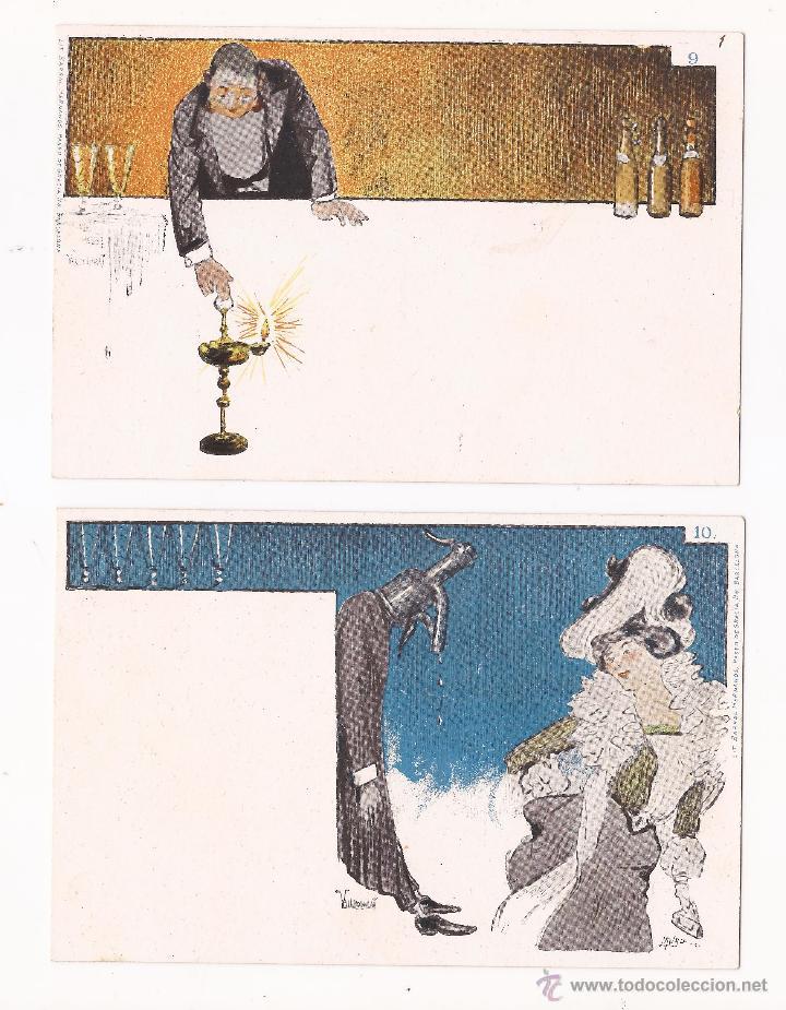 Postales: LUSTRAL FABRICA DE AGUAS CARBONICAS / SERIE DE 10 / SIN TIPOGRAFIAR - Foto 4 - 50579030