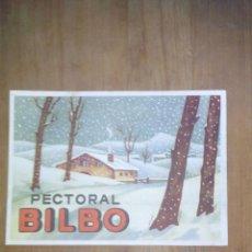 Postales: POSTAL PECTORAL BILBO / SELLADA Y TIMBRADA . Lote 50681693