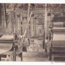 Postales: POSTAL VISTA PARCIAL DE LA MAQUINARIA PARA LA FABRICACIÓN PASTA BOLONIA / N. MESTRES / REUS. Lote 50782918