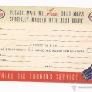 Postales: POSTAL ESSO FOR HAPPY MOTORING / IMPERIAL OIL TOURING SERVICE / ONTARIO / SIN USAR. Lote 50786284