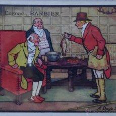 Postales: POSTAL PUBLICITARIA: COGNAC BARBIER. A. DAYLE SPORT. AÑOS 20. Lote 50985393