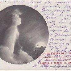 Postales: POSTAL PUBLICIDAD FABRICA PASTAS FIGUERAS BARCELONA - CHOCOLATES FIGUERAS . Lote 51075550