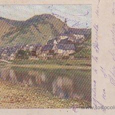Postales: POSTAL PUBLICIDAD FABRICA PASTAS FIGUERAS BARCELONA 1910 - CHOCOLATES FIGUERAS - ALELLA . Lote 51075645