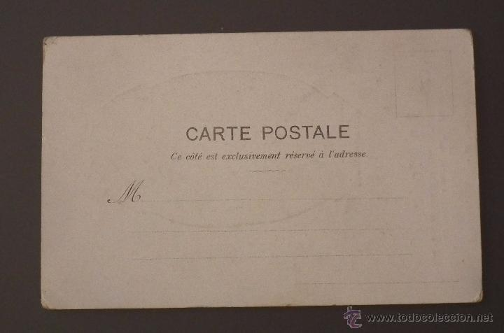 Postales: POSTAL MODERNISTA CON PUBLICIDAD DE LA MODA, MERCERÍA Y NOVEDADES. ALMACÉN AL POR MAYOR Y MENOR - Foto 2 - 51567632