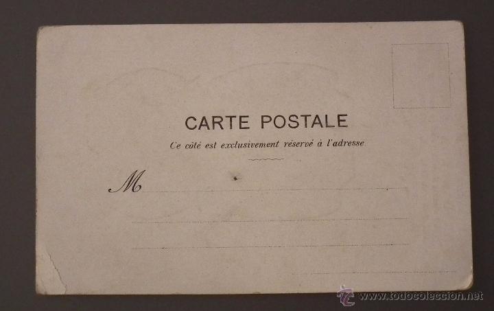 Postales: POSTAL MODERNISTA CON PUBLICIDAD DE LA MODA, MERCERÍA Y NOVEDADES, ALMACEN AL POR MAYOR Y MENOR - Foto 2 - 51567850