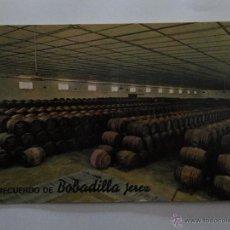 Postales: POSTAL BODEGAS RECUERDO DE BOBADILLA JEREZ. Lote 52120054