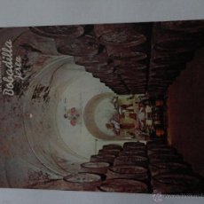 Postales: POSTAL BODEGA BOBADILLA CON FOTO DE VENDIMIDIADORES . Lote 52120415