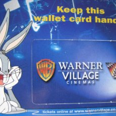 Postales: KEEP THIS WALLET CARD HANDY. WARNER VILLAGE CINEMAS. BOOMERANG CINEMA CARDS. 1999. UK.. Lote 52597551