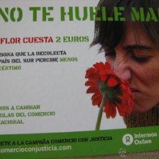 Postales: ¿NO TE HUELE MAL?. INTERMÓN OXFAM.. Lote 52647755