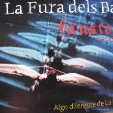 Postales: LA FURA DELS BAUS. FAUSTO. TEATRO OLIMPIA. 1999.. Lote 52696709