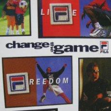 Postales: CHANGE THE GAME. FILA. TRIO CARABOBO CAMPEÓN NACIONAL 98 GIMNASIA AERÓBICA. CARACAS. VENEZUELA.. Lote 52856449