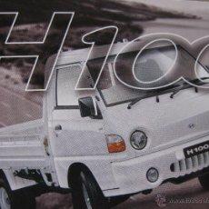 Postales: ESPECIFICACIONJES H100 BACHACO. HYUNDAI. CARACAS. VENEZUELA. 1998.. Lote 52856989