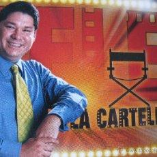 Postales: LA CARTELERA. PROGRAMA CONDUCIDO POR LEONARDO ROMERO. CARACAS. VENEZUELA. 1998.. Lote 52857677