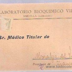 Postales: TARJETA POSTAL PUBLICITARIA. LABORATORIO BIOQUÍMICO VILA. TARRAGONA.. Lote 52876306
