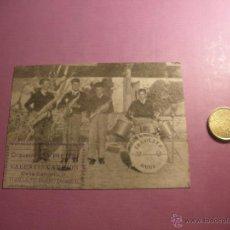 Postales: RARA POSTAL PUBLICITARIA DE ORQUESTA RUBI-TUDELA DE DUERO-VALLADOLID-.. Lote 52880899