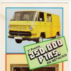 Postales: -63484 POSTAL PUBLICITARIA MERCEDES BENZ, LA RUEDA DE LA FORTUNA. Lote 53410207