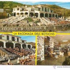 Postales: LA RACONADA DELS BOTIJONS - GUADALEST (ALICANTE) - AÑO 1985 - TARJETA PUBLICITARIA. Lote 53422440