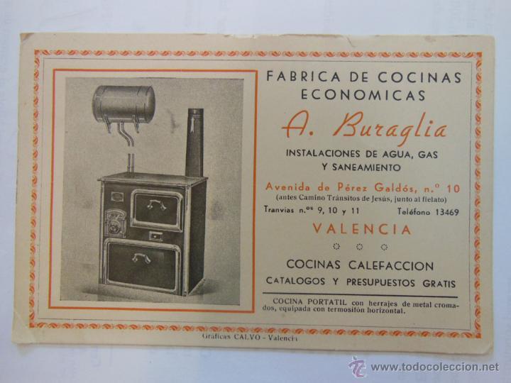 Antigua tarjeta publicidad f brica de cocinas comprar for Fabrica de cocinas integrales economicas