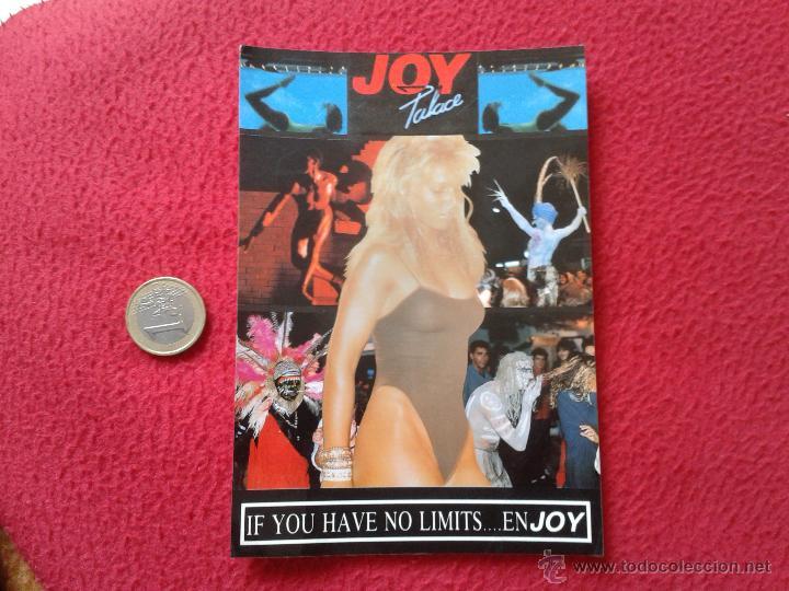 POSTAL POST CARD JOY PALACE DISCO LIVE SHOW IF YOU HAVE NO LIMITS ENJOY IDEAL COLECCION VER FOTO Y D (Postales - Postales Temáticas - Publicitarias)