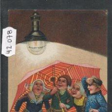 Postales: BOMBILLA PHILIPS - POSTAL PUBLICITARIA - VER REVERSO - (42078). Lote 54955853
