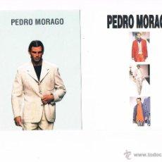 Postales: LOTE 2 POSTALES ANTIGUAS PUBLICIDAD PEDRO MORAGO. Lote 54995175