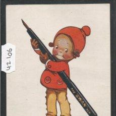 Postales: SUANITO - THE SWAN PEN - POSTAL PUBLICITARIA - VER REVERSO - (42106). Lote 55035978