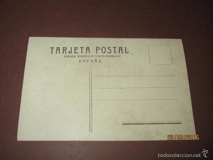 Postales: Antigua Postal *MINORÍA CARLISTA EN LAS CORTES DE 1907* D. Celestino de Alcocer y Valderrama - Foto 3 - 55686265