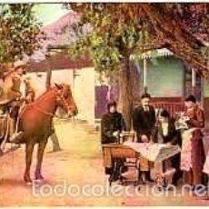 Postales: SINGER MAQUINAS DE COSER. ESCENA DE CHILE. ANTIGUA POSTAL PUBLICITARIA. TAMAÑO 13,2X8 CM.. Lote 56303749