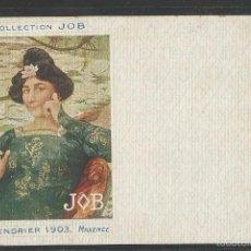 Postales: POSTAL PUBLICITARIA - PAPEL DE FUMAR JOB - VER REVERSO -(42.956). Lote 56462398
