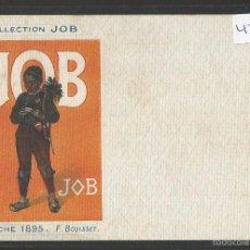 Postales: POSTAL PUBLICITARIA - PAPEL DE FUMAR JOB - VER REVERSO -(42.956). Lote 56462406