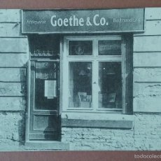 Postales: POSTAL PUBLICITARIA POSTALFREE. GOETHE & CO. SIN CIRCULAR.. Lote 56598323