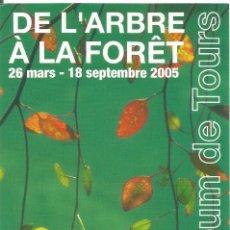 Postales: ** PV1338 - POSTAL - DE L´ARBRE A LA FORET - MUSEUM DE TOURS. Lote 56897859