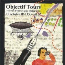 Postales: ** PV1350 - POSTAL - OBJECTIF TOURS - THEME - VOYAGEURS. Lote 56909807