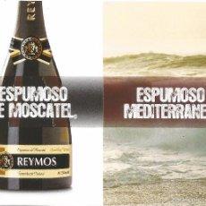 Postales: ** PW625 - POSTAL - ESPUMOSO DE MOSCATEL REYMOS - ESPUMOSO MEDITERRANEO. Lote 57223434