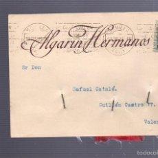 Postales: TARJETA POSTAL DE PUBLICITARIA. ALGARIN HERMANOS. SEVILLA. 1928. Lote 57618077