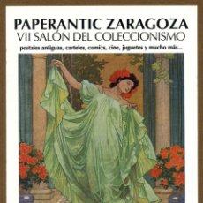 Postales: POSTAL - VII PAPERANTIC 2012 ZARAGOZA. Lote 130412194