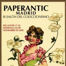Postales: POSTAL - III PAPERANTIC 2005 MADRID. Lote 155978742