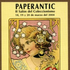 Postales: POSTAL - II PAPERANTIC 2004 BARCELONA. Lote 155978696