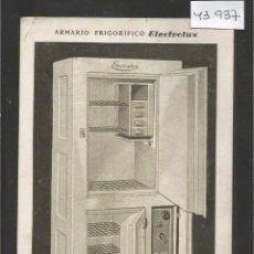 Postales: POSTAL PUBLICIDAD FRIGORIFICO ELECTROLUX - BARCELONA - VER REVERSO -(43.937). Lote 57955146