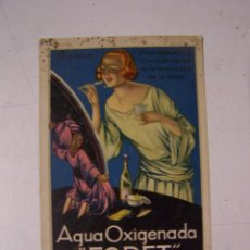 Postales: AGUA OXIGENADA FORET. TARJETA POSTAL.. Lote 58374297