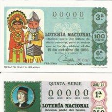 Postales: LOTERIA NACIONAL, 12 POSTALES, SERIE COMPLETA, SERIE S, HISPANIDAD - SIN CIRCULAR. Lote 58437658