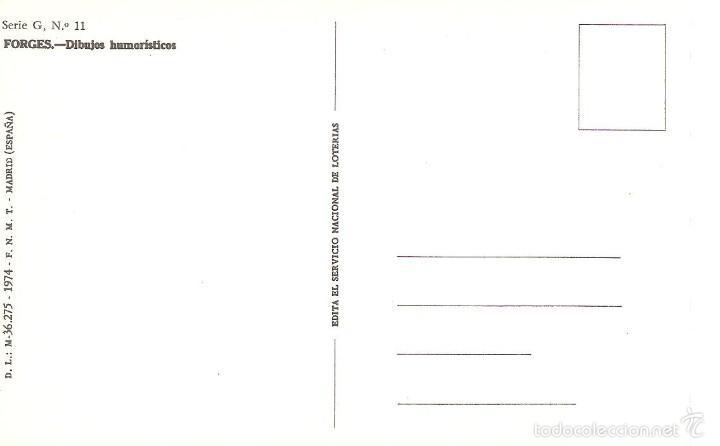 Postales: postal de loteria 1974 num. 11 5/044 - Foto 2 - 58473064