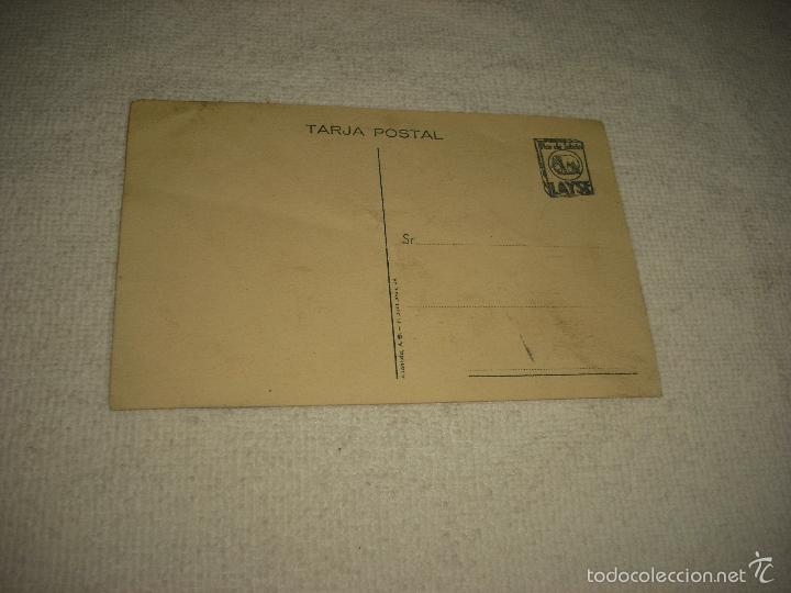 Postales: ANTOÑITA ARQUES .PUBILLA DE CATALUÑA 1935 . PUBLICIDAD FLOR DEL JABON LAYSE . - Foto 2 - 60197139