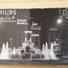 Postales: POSTAL ZARAGOZA - 52 PLAZA DE ESPAÑA. Lote 61274935
