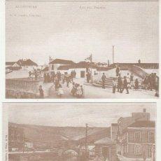 Postales: LOTE 9 POSTALES DE ALGECIRAS (REPRODUCCIONES)TETRAPODO 2012.PUBLICIDAD DORSO ..SIN CIRCULAR (16-521). Lote 61480847