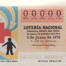 Postales: POSTAL PUBLICITARIA SERIE M Nº 11 DECIMOS SORTEO CRUZ ROJA AÑOS 80 . Lote 61544892